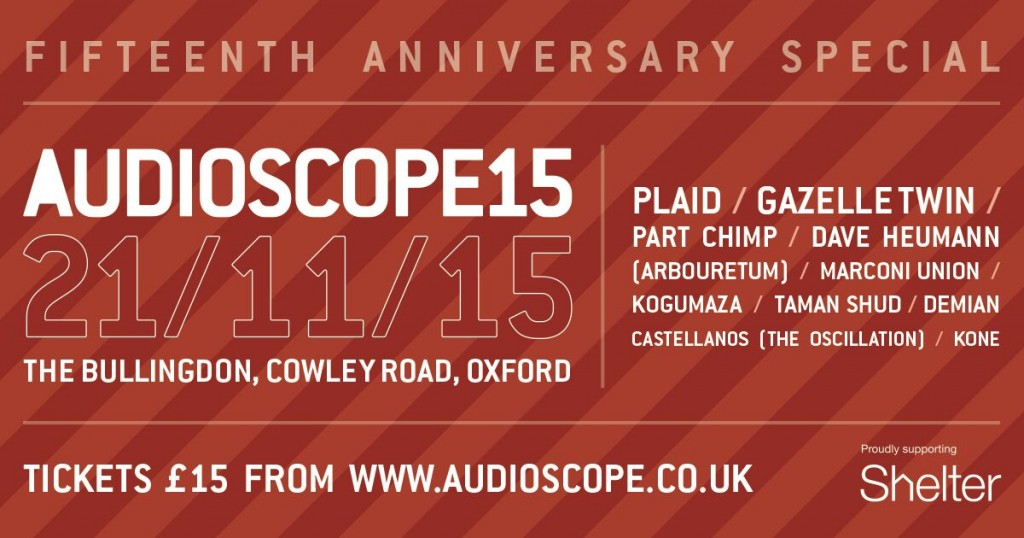 Audioscope15 lineup